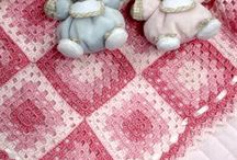 colchas de croche