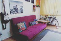 My hippie home
