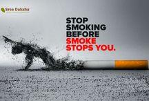 STOP SMOKING BEFORE SMOKE STOPS.