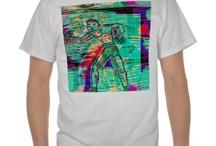 Mod Pop  Digital  Art ipad Cases  i phone Clothing Bags Clocks / Merchandise  from  Zazzle   featuring the original   digital art  designs by Katie Pfeiffer