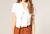 I love blouses!! / A blouse is a girls best accessory! Dress it up or down!