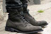 Clothes and boots, cool shoes