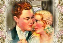 Couple Valentin Vintage / Gif