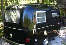 black trailer