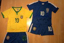 World Cup Gear / Children's Soccer Jersey's