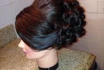My favorite typo of updo for a bride. Really elegant and beautiful / Made by Kalia Deeb