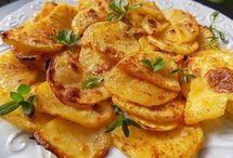 Turecké  zapekané  zemiaky