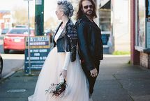 GET HITCHED / Ideas and inspiration for punk lifestyle wedding