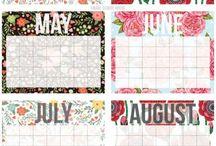 Kalendar, diár, pismo