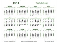 Calendar - stuff that Neefer used