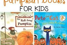 October Picture Books / Book about pumpkins,  fall,  and Halloween