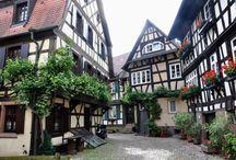Alemania. Pueblos