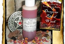 Soaps & Powders: Cauldron Craft Oddities / I hand craft a variety of soaps, floor washes, floor sweeps, and powders for spiritual and physical cleansing, luck, love, and protection.  All made in small batches with organic ingredients. / by Grim