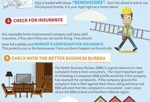 Renovation Infographics