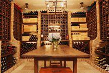 Wine Cellars,Wine Storage, Kitchen Wine Storage, Bars / Interior design for wine storage in wine cellars, kitchens, family rooms and more
