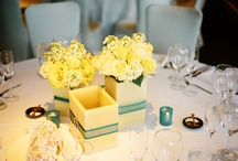 Our Yellow And Blue Wedding
