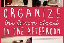 Organize Organize Organize / Organizing all spaces.