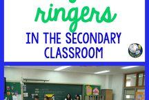 Bell Ringers/ Sponge Activities