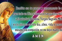 Bendita sea tu pureza / Oración a la Virgen María