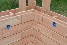 briques en bois