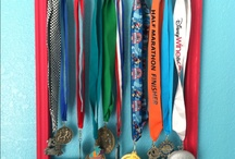 Medal display / by ChuChu Supermom