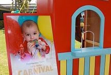 Come one, come all ~ To a Birthday Carnival / by Kelly Downing