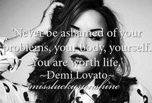 Demi's quotes / <3