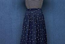 How to wear polka dot skirt