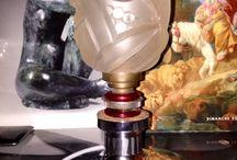 Eddine.R . Paris . Lampe de bureau