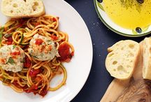 Food - Spiralizer, Other Noodles. Spag Squash