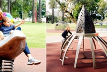 art on playgrounds / by Let Kids Play