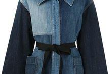casacos jeans