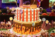 Decoração Aniversário A Fantástica Fábrica De Chocolate