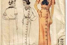30s, 40s, & 50s Period Inspiration / 30s, 40s, and 50s period inspiration. Focus on sailor/military/nautical and women's dresses