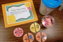 {Classroom Math} Place Value / Activities, worksheets, crafts, ideas, games, etc. that center around the theme of PLACE VALUE