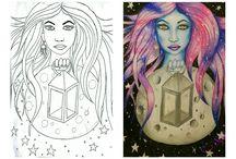 my drawing - hunmithologic
