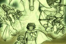Fan Arts / Fan arts of anime, manga and movies :)