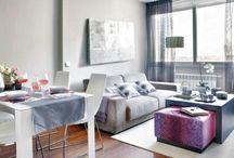 Deptos chiquitos - Tiny apartments / Ideas para espacios chicos - Ideas for small spaces
