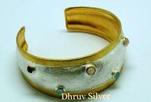 Silver Bangle / sterling silver bangle