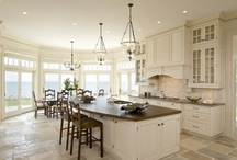 Kitchens ~ heart of the home / Dream kitchens, real kitchens, kitchen ideas  / by Janie Wise-Wilson