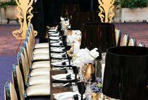 Wedding: Theme Gold 'nd Black