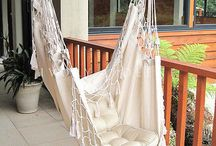 Hanging chairs / Ideas for creating DIY hanging chairs