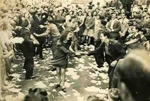 Post War Style / War Time London - V-E Day Celebrations