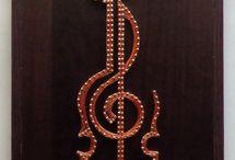 hudba dekorace