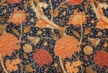 Pre-Raphaelite flowers & foliage / Beautiful designs from the Victorian era.