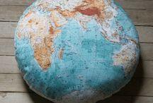 Le tour du monde / Des cartes...