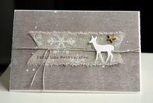 Weihnachts Karten und Verpackungen