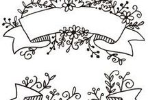 free banner floral
