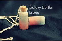 Galaxy bottle