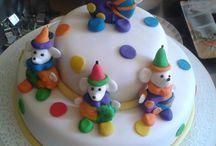 Tortas decoradas / Tortas decoradas para  Cumpleaños , Baby shawer , casamientos , Bautizos .Comunion.